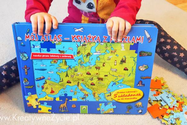 Mapy z puzzlami