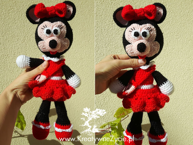 Minnie crochet girl