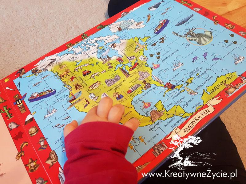 Mój atlas puzzle