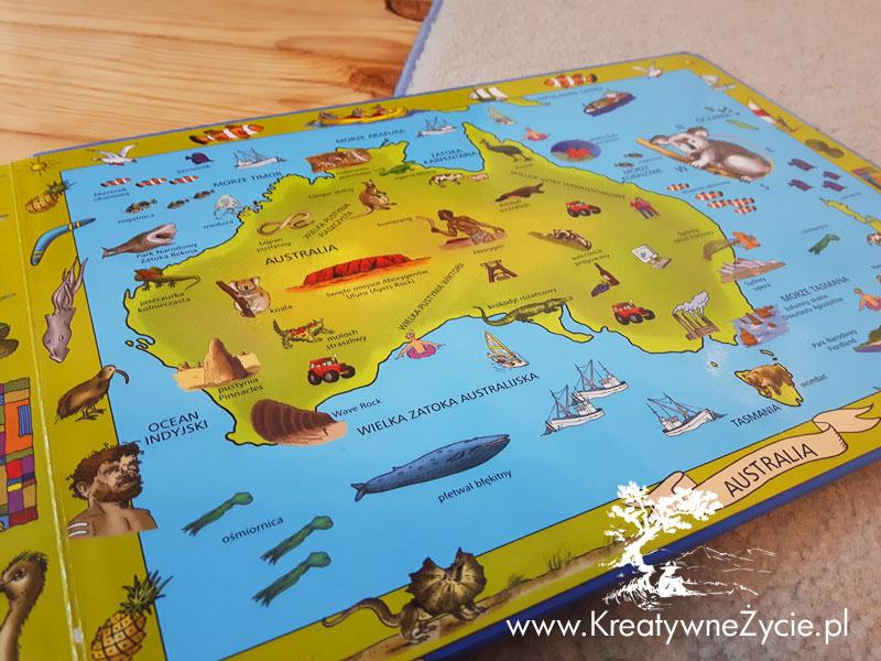 Mój atlas-książka z puzzlami