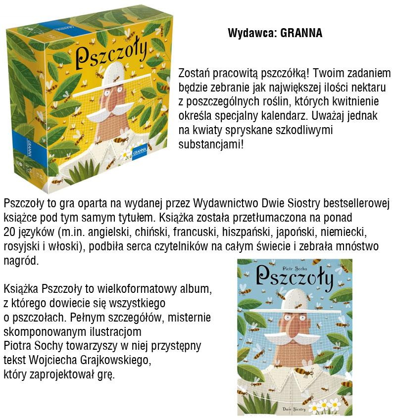 Pszczoły gra Piotr Socha
