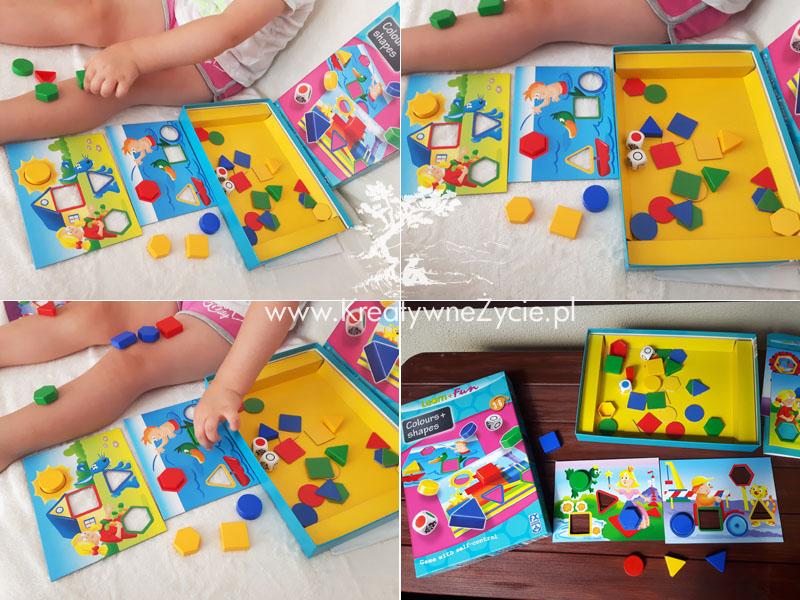 Nauka kolorów i kształtów