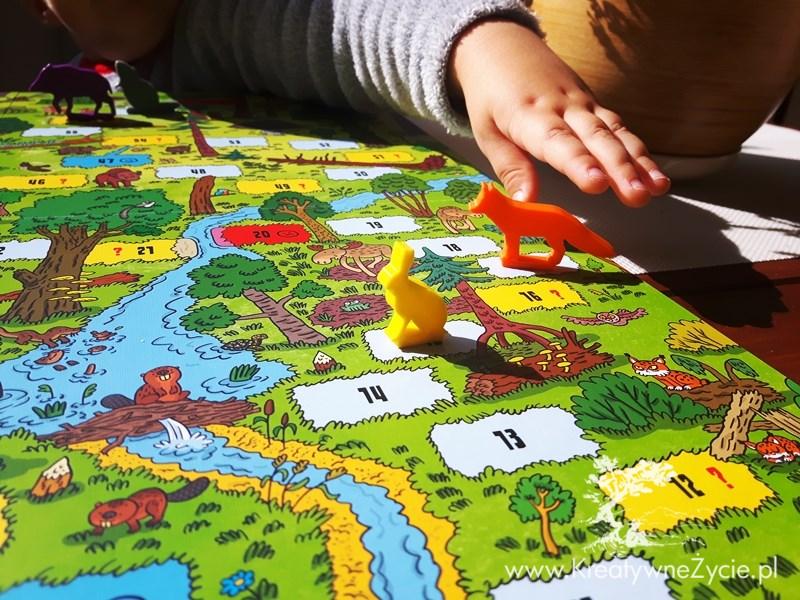 Puszcza Białowieska gra edukacyjna