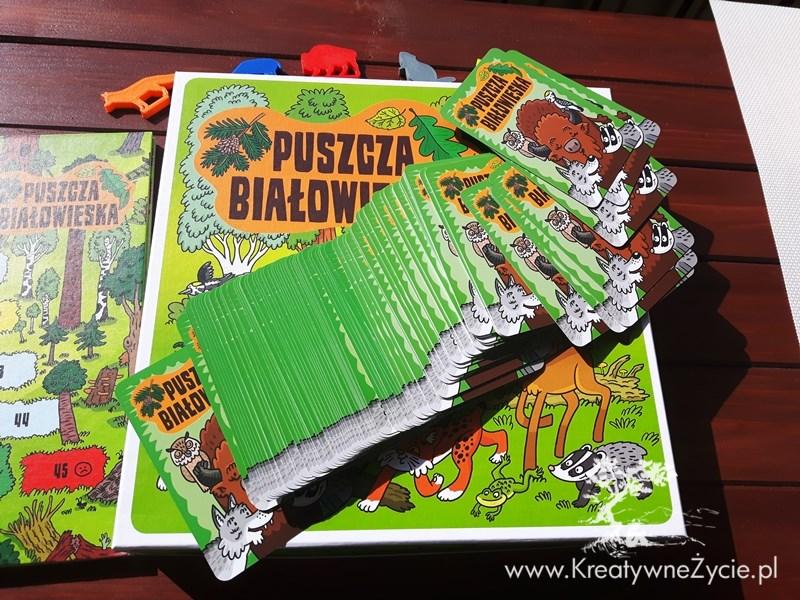 Puszcza Białowieska karty do gry