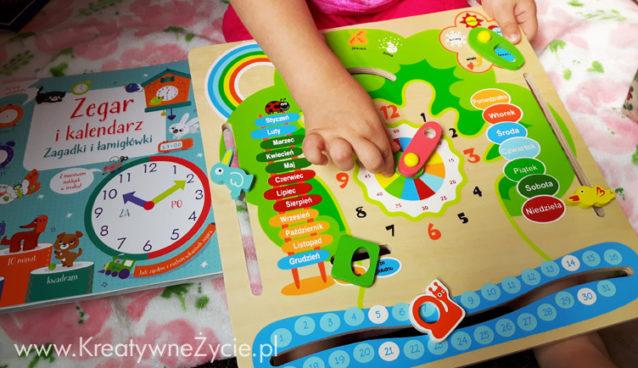 Zegar i kalendarz nauka