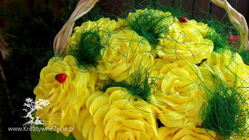 Żółty bukiet