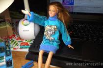 Sweter dla lalki DIY