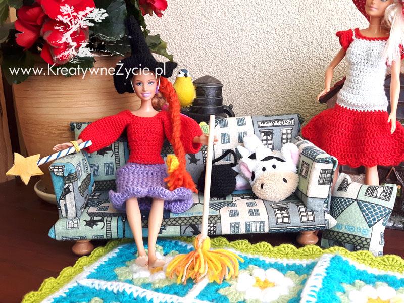Sofa dla Barbie handmade
