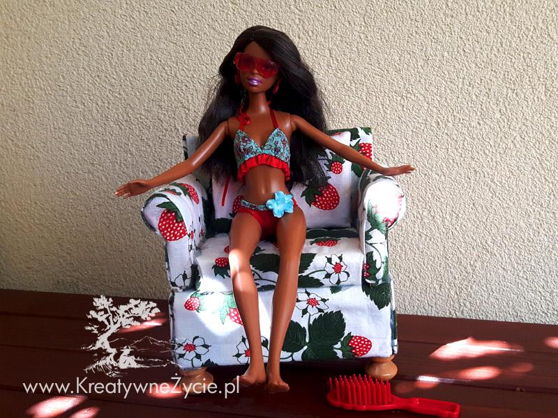 Jak zrobić fotel dla Barbie