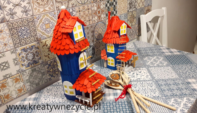 Mooomin house handmmade