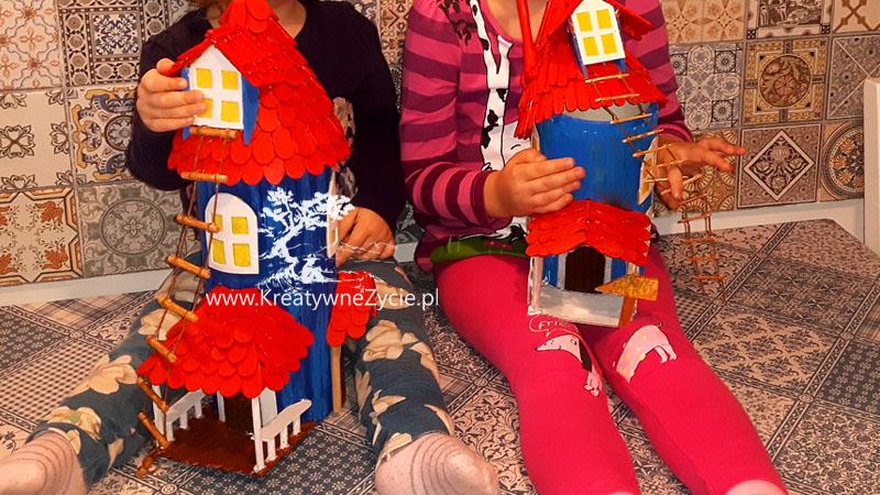 Moomin houses handmade
