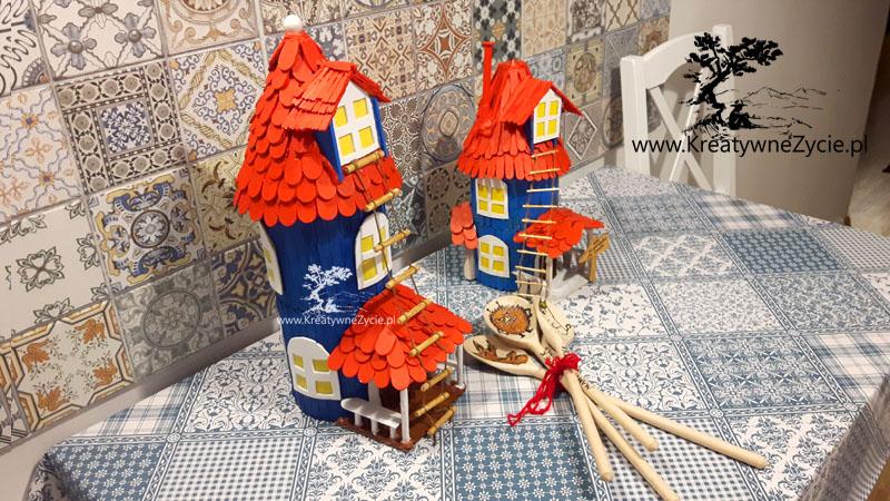 Jak zrobić domek Muminków