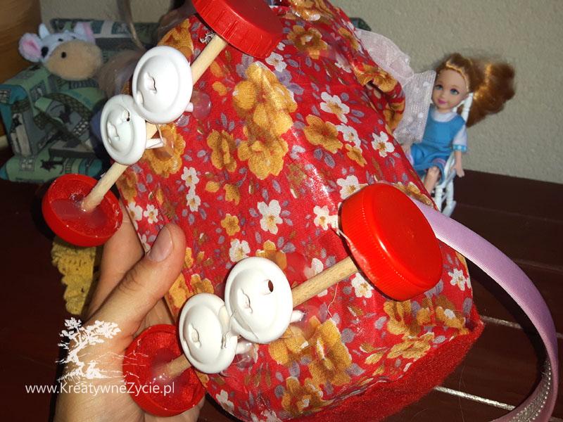 Gondola wózek dla Barbie diy