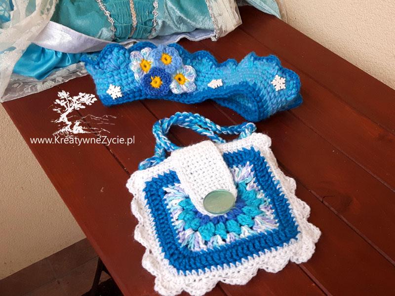 Crochet korona Elzy