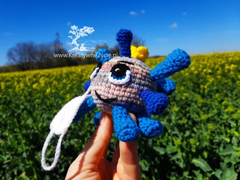 crochet coronowirus