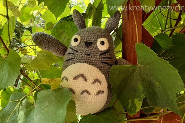 Totoro na szydełku