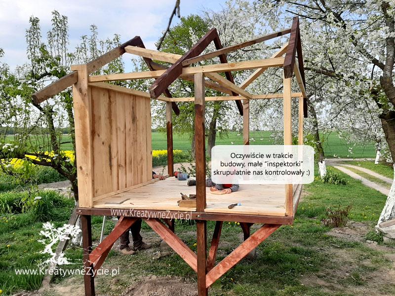 Domek ogrodowy jak zbudować
