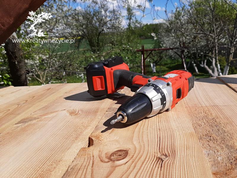 Domek - narzędzia do budowy