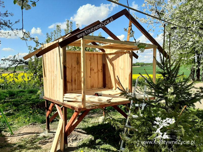 Jak zrobić domek z drewna