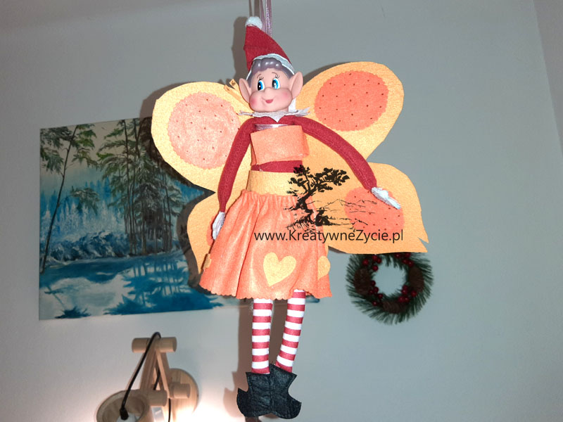 Elf on the shelf fairy