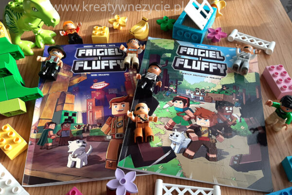 Frigiel i Fluffy komiksy