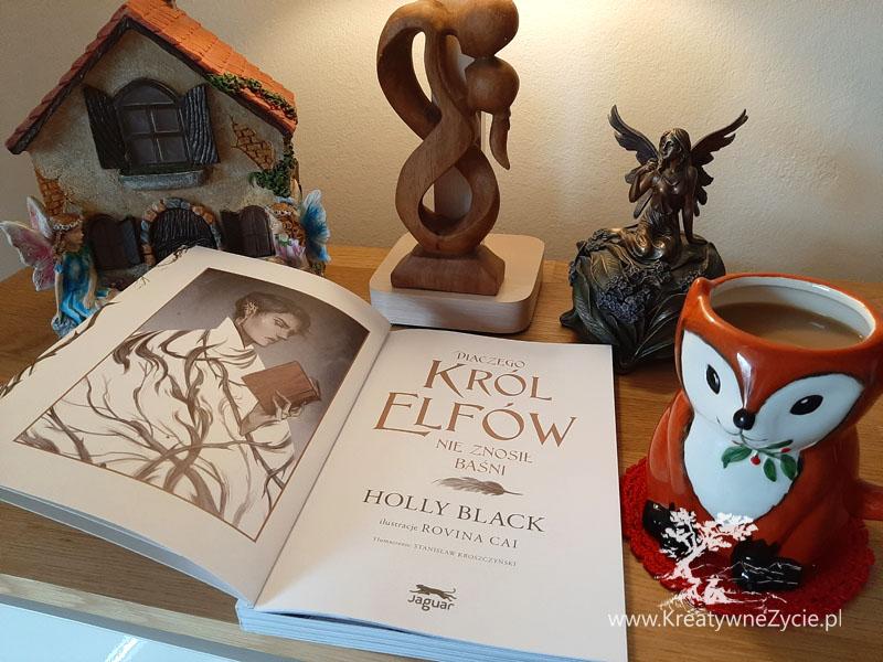 Holly Black Dlaczego król elfów nie znosił baśni