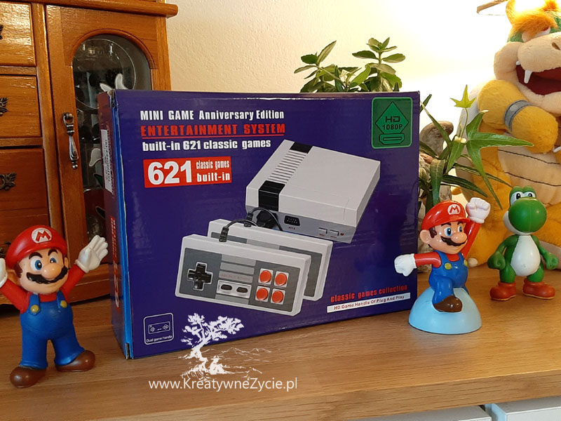 Konsola Pegazus Nintendo Mario