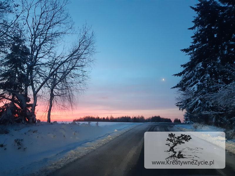 Bieszczady zimą Muczne – Bukowe Berdo