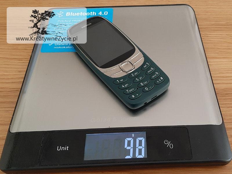 Nokia 6310 DS ile waży