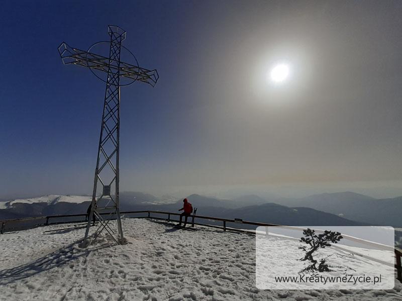 Tarnica - szlak zimowy