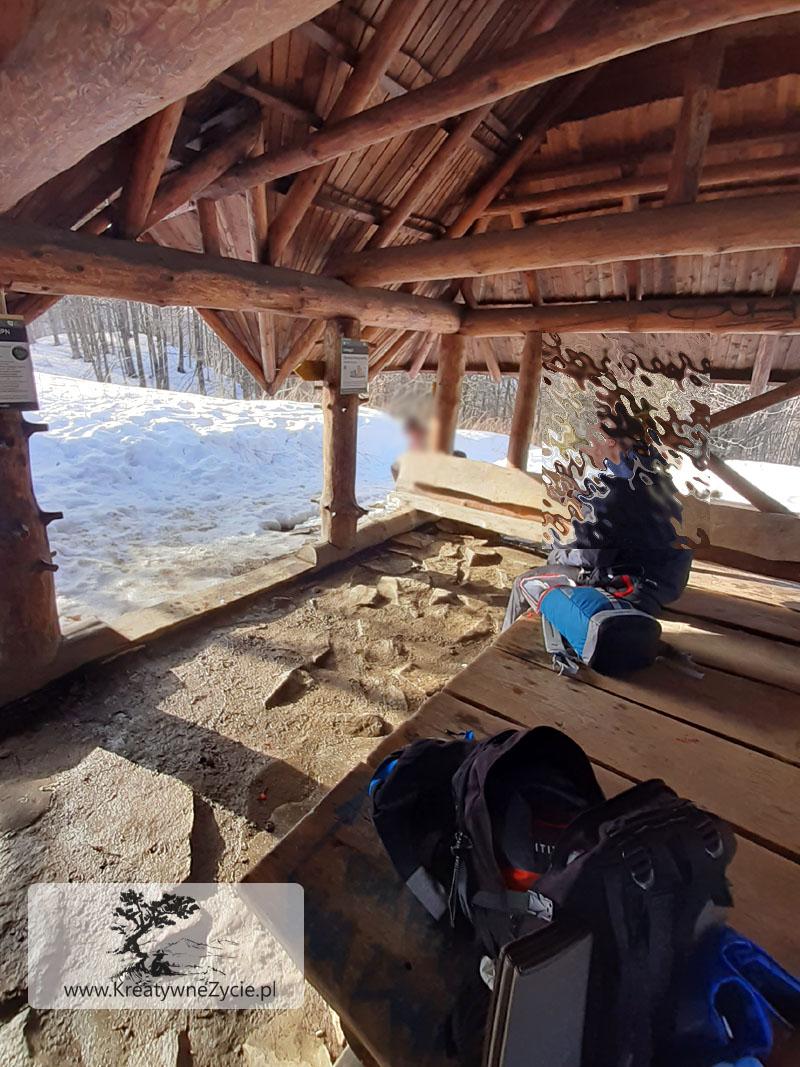 Szlak na Tarnicę zimą